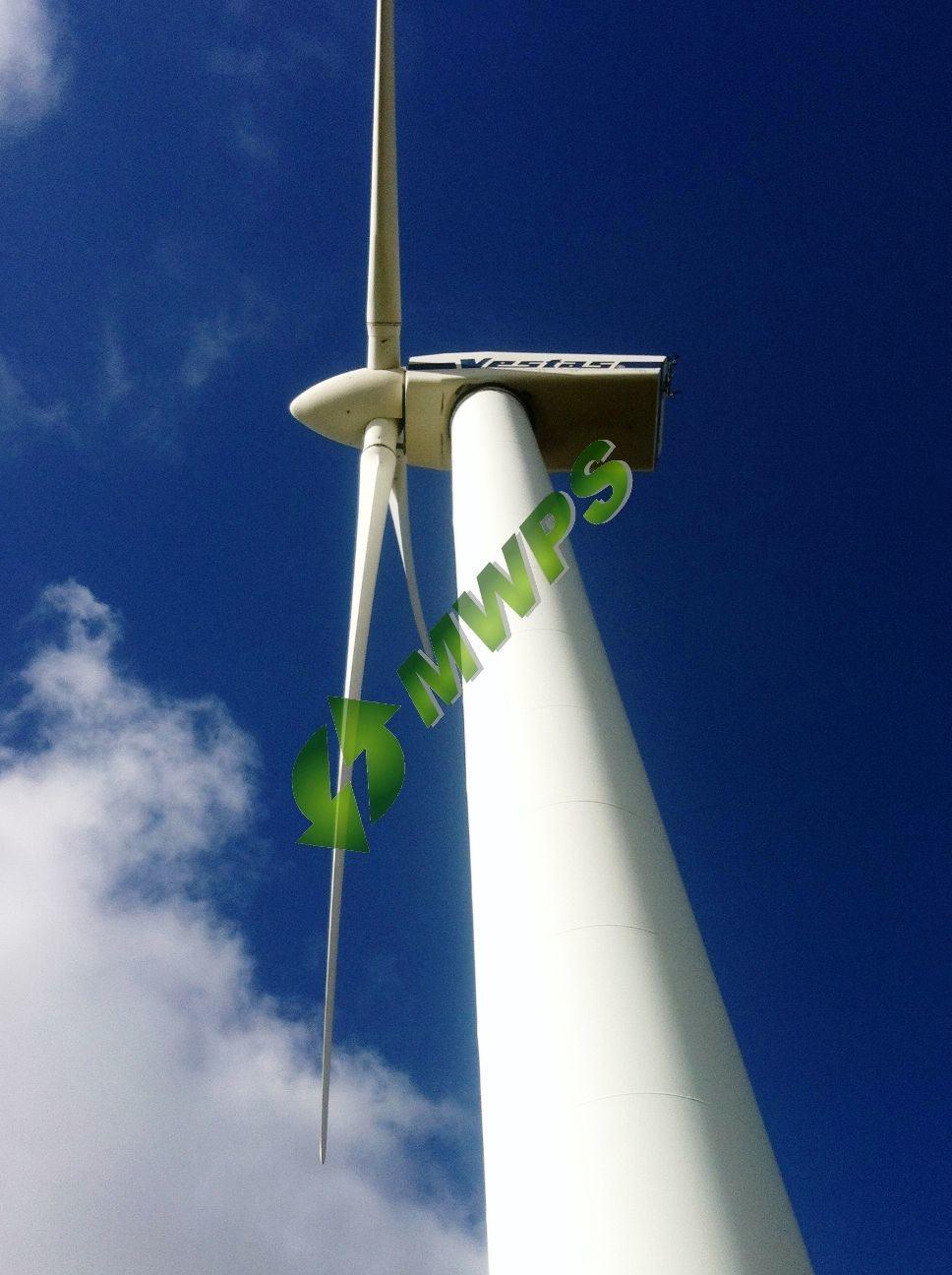 5 x  Vestas V29 – 225kW Wind Turbines For Sale